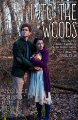 "Publicity Poster for Second Stage's 2015 production ""Into the Woods"""